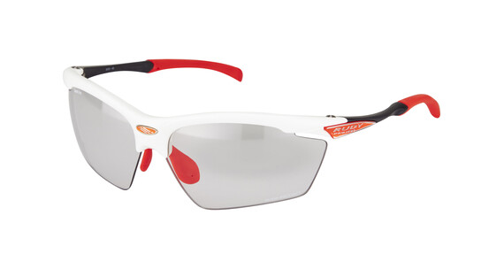 Rudy Project Agon - Lunettes cyclisme - rouge/blanc